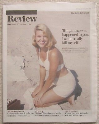 Sylvia Plath – Daily Telegraph Review - 23 September 2017