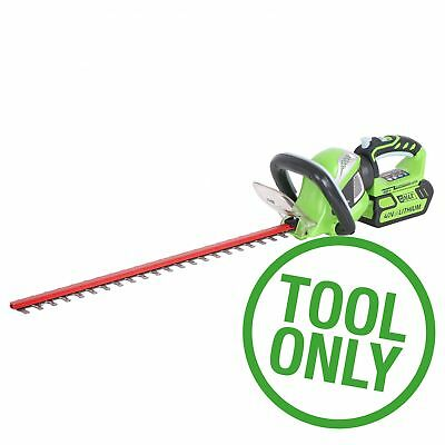 Greenworks Tools 61cm (24'') 40V Lithium-Ion Cordless Battery Hedge Trimmer