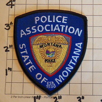 State of MONTANA Police Association Patch     ***NEW***