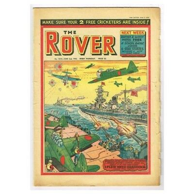 The Rover Comic June 2 1956 MBox1296  No.1614 I flew with Braddock
