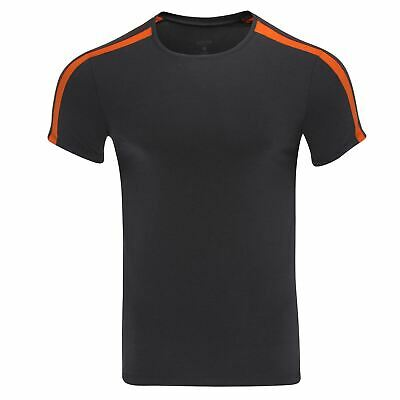 Doreanse Men's 2544 Sporty T-Shirt Fitted Muscle Top Stretchy Comfy Designer