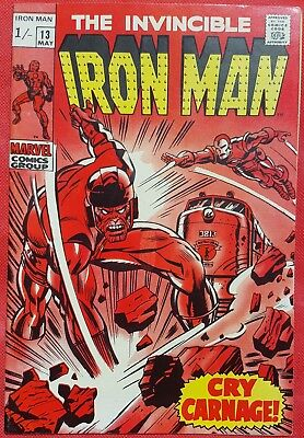 IRONMAN 13 MARVEL SILVER AGE 1969 1st appearance of the Controller