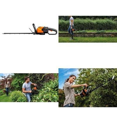 36V 40V Max 56Cm Cordless Hedge Trimmer Cut Branches Up To 27Mm Thick