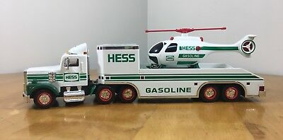 1995 HESS Truck And Helicopter - Pre-Owned No Box