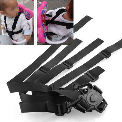 Convenient 5-Point Harness Baby Chair Stroller Buggy Safe Belt Strap for EAAC