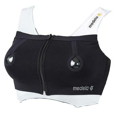 Medela Easy Expression Bustier (Black) - Large Free Shipping!