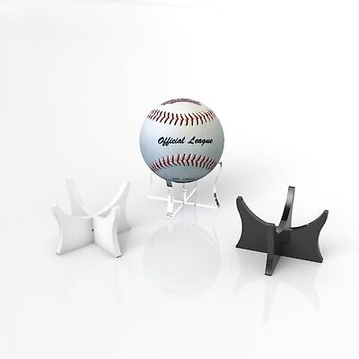 Acrylic Baseball Ball Display Stand / Signed Autographed Perspex Holder - Slim