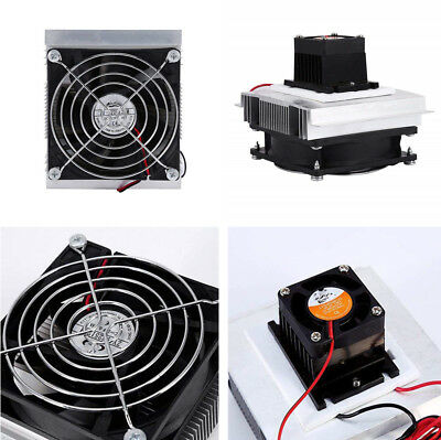Thermoelectric Peltier Cooler Refrigeration Semiconductor Cooling Fan System Kit