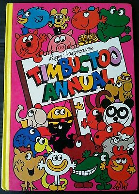 TIMBUCTOO ANNUAL ~ ROGER HARGREAVES 1979  Lge HC