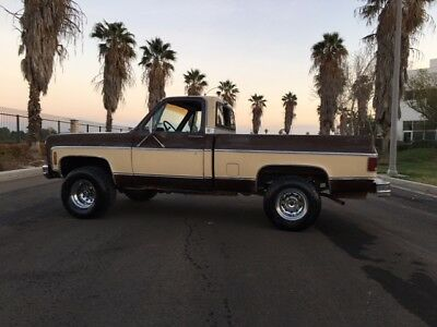 1979 Chevy Truck >> 1979 Chevrolet Other Pickups 1979 Chevy Truck K10 4x4 Short Bed Truck