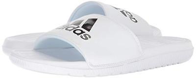 6d3f89ebe6fe Men Adidas Voloomix Slide Sandal CP9447 White Black White 100 % Original New