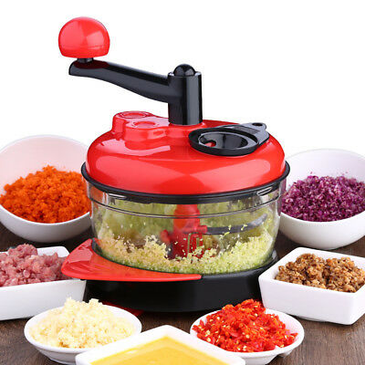 Manual Food Processor Vegetable Chopper Meat Grinder Mincer Onion Chopper RT29
