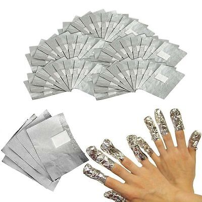 Nail Foil Gel Wraps Polish Remover Art Soak Off Acrylic Removal - NO ACETONE