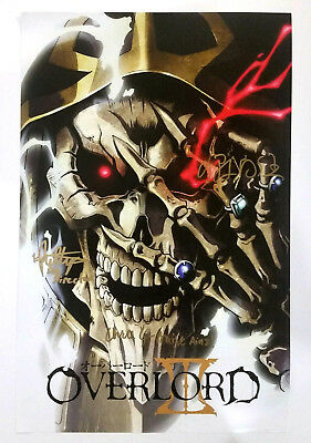 OVERLORD III Anime Expo 2018 Signed POSTER Autographed FUNIMATION AX 17x11 AINZ