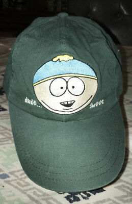 VINTAGE South Park Eric Cartman DUDE SWEET BASEBALL CAP HAT