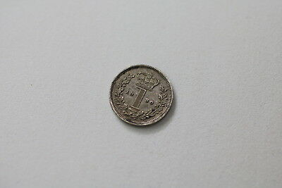 Uk Gb Maundy Penny 1880 Victoria Nice Details A93 #rk7518