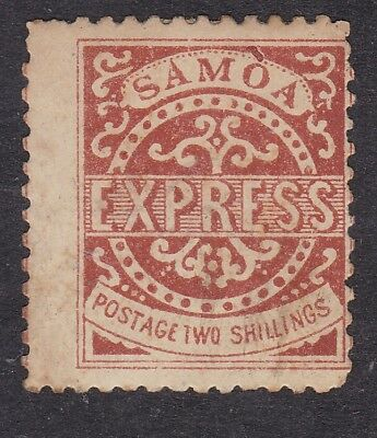 Samoa Express 1877-80 - 2s Brown - SG8 or SG13 - Mint Hinged (A1H)