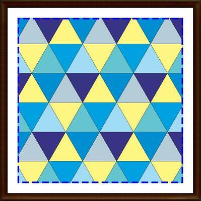 Template for cutting and patchwork - Triangle