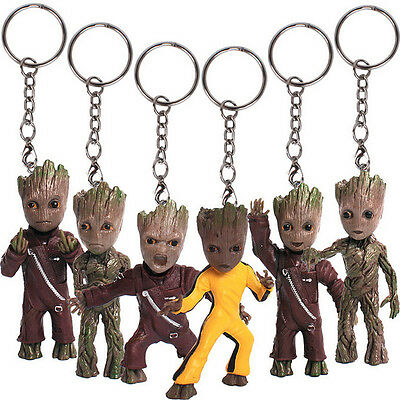"KeyChain Guardians of the Galaxy Vol.2 Baby Groot 3"" Figure Statue Gift Toy New"