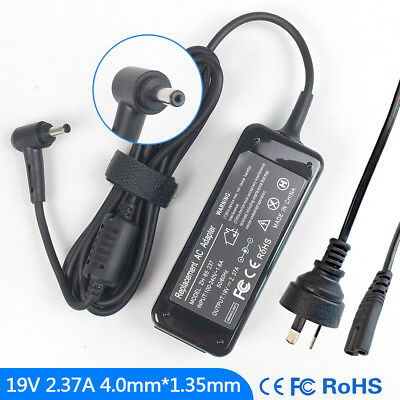 19V 2.37A Ac Power Adapter Charger for Asus X200 BX21A Series 4.0mm*1.35mm