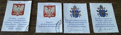 4 European Postal Stamps Collection