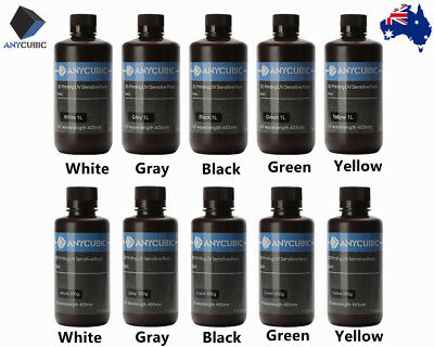 *AU STOCK* ANYCUBIC 405nm UV Sensitive Curing Resin For Photon LCD 3D Printer