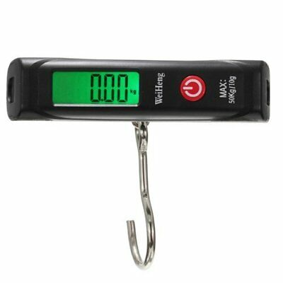 WeiHeng Digital Electrique Bagage Peson Pese Balance Scale Peche Crochet Ho W1G2