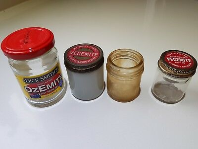 Vintage Vegemite Jar Jars and Ozemite Jar Collectable Rare Australiana