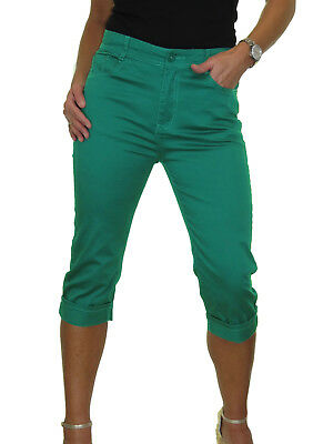 Stretch Cropped Skinny Jeans Turn Up Cuff Chino Sheen 10-22 1518