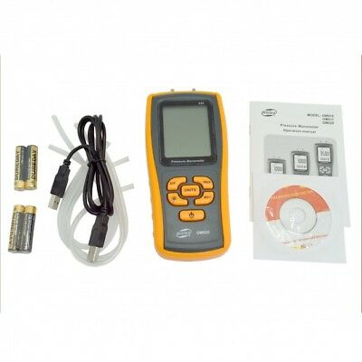 GM520 Pressure Manometer with batteries