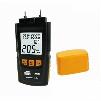 GM610 Wood Moisture Meter with batteries