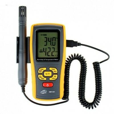 GM1361 Temperature & Humidity Meter with batteries