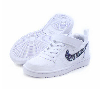 Scarpe Nike Bambino Court Borough Low Psv Stile Air Force 870025 103 Bianco  New d3a86a00c46