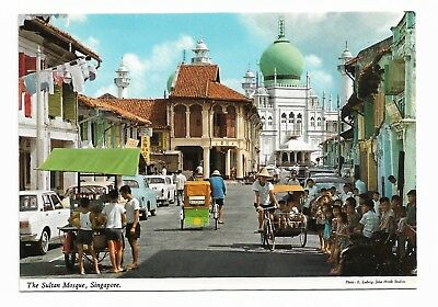 The Sultan Mosque, Singapore Postcard Unused 929G
