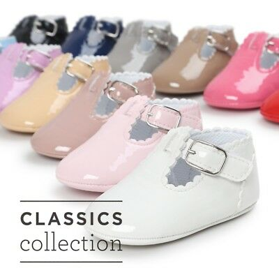 Infant Baby Girl Toddler Crib Princess Prewalker Shoes Soft Sole Moccasin Shoes