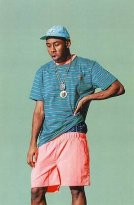 "MX25670 Tyler The Creator - American Odd Future Hip Hop Star 14""x21"" Poster"