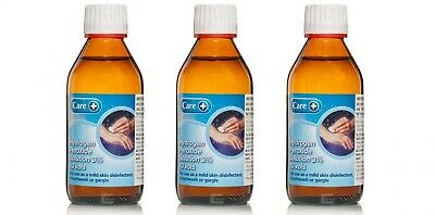 Care Hydrogen Peroxide 3% 10 Vols 200ml x3 (Triple Pack), Skin Disinfectant