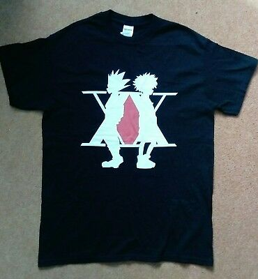 Hunter x Hunter T-Shirt Größe M Killua Zoldyck Gon Freecss Anime Merch