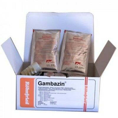 Pigeon Product - Gambazin -Bacterial infections- 2 sachets of 25gr -by Rohnfried
