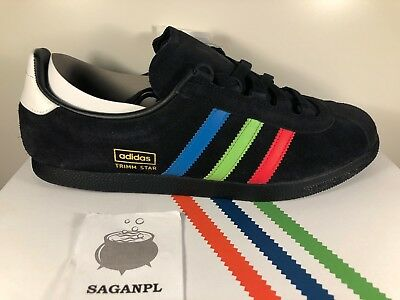 huge selection of 0f673 ec5d3 Adidas Originals Trimm Star VHS black Size  Exclusive B27867 size 8 8.5 10  uk