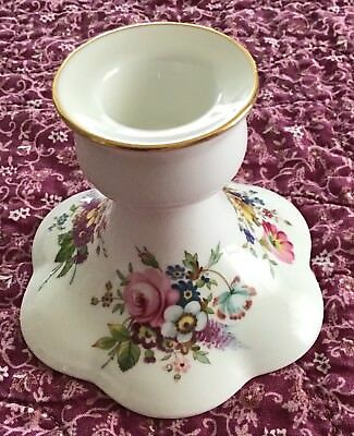 Hammersley Candle Stick Holder Bone China Made In England