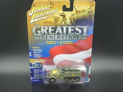JLCP7070-24 M16 HALF TRACK 1:87 NEW DIECAST TOYS CAR JOHNNY LIGHTNING 1:64 THE GREAT GENERATION WWII ALLIED VICTORY