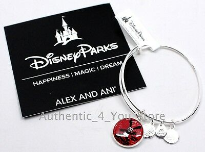 NEW Disney Parks ALEX AND ANI Oswald The Lucky Rabbit 90 Years Silver Bracelet