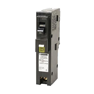 Square D by Schneider Electric HOM120PCAFIC Homeline Plug-On Neutral 20 Amp...