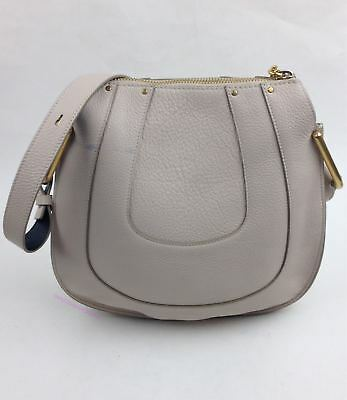 7de39a1735 CHLOÉ HAYLEY SMALL Abstract White Leather Hobo Bag - $1,190.00 ...