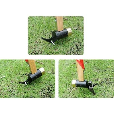 Camping Brass Mallet Hammer Tent Pegs Remover Tools Stake Nail Puller AU