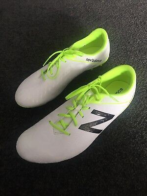 New Balance Visaro Control White Football / Soccer Boots!! Brand New
