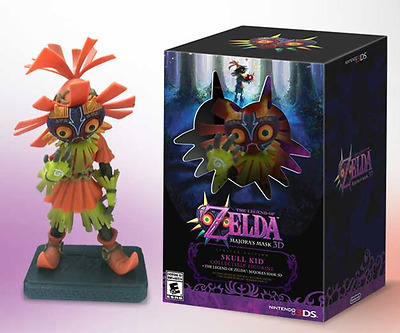 "6"" The Legend of Zelda Majora's Mask 3D SKULL KID Collectible Figurine in box"