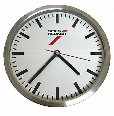 Spies Hecker Analogue Bar Indoor Outdoor Decorative White Bar Cave Wall Clock
