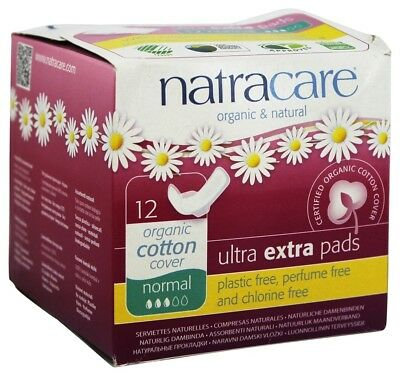 Natracare - Cotton Cover Ultra Extra Pads Normal - 12 Pad(s)